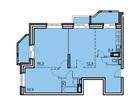 Продается 3-комн. кв-ра площадью 68,3 кв.м, 2 этаж 17-этажно