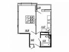 Продается однокомнатная квартира в ЖК Калипсо 3. Жилой ком