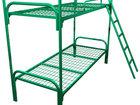 Смотреть фото Мебель для спальни Кровати с металлической сеткой и спинками из ДСП 70251265 в Иркутске