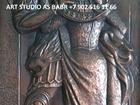 Просмотреть фотографию Антиквариат, предметы искусства Чеканка, чеканка по меди, готовая и на заказ  70548973 в Иркутске