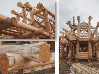 Смотреть foto Строительство домов Рубленные дома и бани из Сибирской лиственницы 39352490 в Иркутске