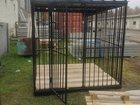 Фото в Мебель и интерьер Мебель для спальни Вольеры для животных с дверью разборные  в Иваново 16000