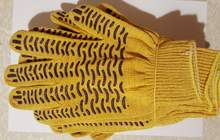 Трикотажные рабочие перчатки от производителя