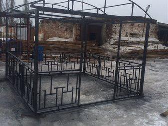 Просмотреть foto Строительные материалы Беседка металлическая разборная 33233078 в Иваново