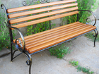 Фото в Мебель и интерьер Мебель для дачи и сада Кованая садовая скамейка - это неотъемлемая в Ижевске 14900