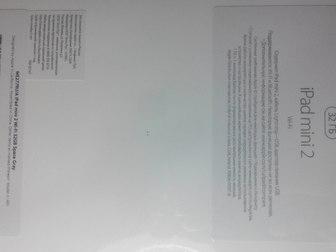 Скачать фотографию  Запакованный iPad mini 2 Retina 32Gb Wi-Fi 37787769 в Ижевске