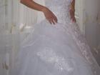 Фотография в Одежда и обувь, аксессуары Свадебные платья Продам красивое свадебное платье размер  в Ярославле 4000