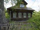 Скачать бесплатно изображение  Бревенчатый дом пригодный к проживанию, в тихой деревне на берегу реки, 36245433 в Ярославле