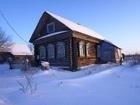 Уникальное foto  Крепкий бревенчатый дом в тихой деревне, недалеко от Волги, 260 км от МКАД 38268291 в Москве