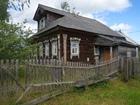 Увидеть фотографию  Бревенчатый дом в жилой деревне, с хорошим подъездом, 220 км от МКАД 67375991 в Угличе