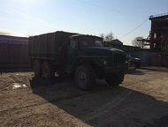 Грузовик Урал-4320 Двигатель Камаз, ПЖД двигателя, АКБ новые, топливный бак 300