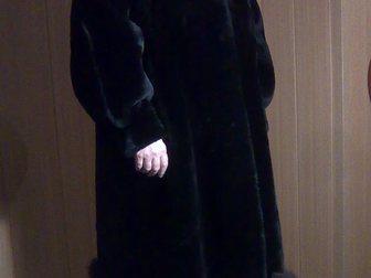 Смотреть foto  Шуба женская мутоновая с отделкой песцом, Пятигорск 33333013 в Энгельсе