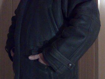 Уникальное изображение Женская одежда Куртка мужская зимняя, кожаная с отстегивающимся капюшоном, Корея 33333175 в Энгельсе