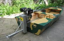 Подвесные лодочные моторы Аллигатор для мелководья