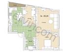 Предлагаем 3-комнатную квартиру 83,2 кв.м., расположенную н