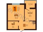 Предлагаем к продажеоднокомнатную квартиру в Московском ра