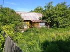 Дачный домик 40 кв.м., деревянный, старой постройки, подведе