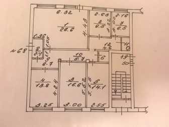 Увидеть фотографию  Продам квартиру под свободное назначение 68881844 в Калуге