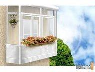 Остекление балконов Остекление балконов и лоджий. Конструкции из пластика и алюм