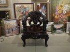 Фото в Мебель и интерьер Антиквариат, предметы искусства Резное Императорское кресло ручной работы, в Казани 155000