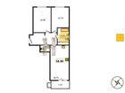 Предлагаем просторную 2комн.квартиру с большой кухней- гости