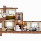 2-х ком квартира в новом кирпичном доме с отличной инфраструктурой в ЖК
