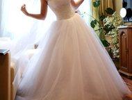 Продам свадебное платье Размер: 40–42 (XS)   Цена 5. 000   возможен торг  Красив
