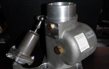 Воздушный управляемый пневмозаслонкой клапан винтовой пары