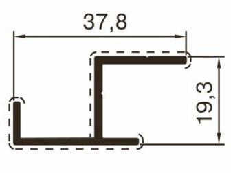 Скачать фотографию Отделочные материалы Алюминиевый профиль для сантехнических перегородок 32743145 в Казани