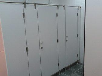 Уникальное изображение Строительные материалы Сантехнические перегородки из HPL пластика 33774921 в Казани