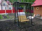 Просмотреть изображение Мебель для дачи и сада Качели садовые кованые 33040795 в Кемерово
