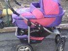 Фотография в Для детей Детские коляски Коляска 2в1! Люлька, прогулка. маскитка, в Кемерово 3500