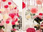 Увидеть изображение Организация праздников Стильное оформление свадьбы бумажными цветами, 33296943 в Кемерово