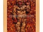 Скачать бесплатно фотографию Антиквариат, предметы искусства Эко сувениры из кедропласта, Панно Йети 36874559 в Кемерово