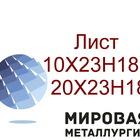 Металлический лист 20х23н18