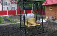 Качели садовые кованые