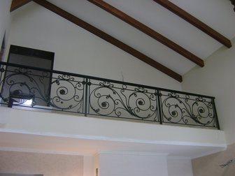 Увидеть foto Мебель для дачи и сада Балконные ограждения кованые 33040909 в Кемерово