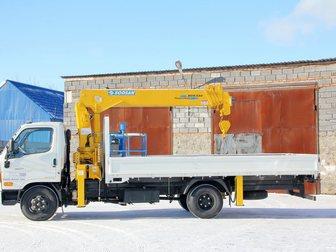 Смотреть фото Самопогрузчик (кран-манипулятор) Продажа нового борта Исузу с манипулятором 5 тн, 13,5 метров 33365927 в Кемерово