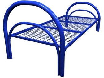 Уникальное изображение Мебель для спальни Кровати металлические для лагеря, кровати для гостиницы, кровати оптом, кровати для рабочих, кровати для турбаз, 34042092 в Кемерово