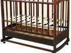 Кроватка с анатомическим матрасом и подушкой