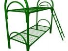 Смотреть foto Мебель для спальни Металлические кровати армейские, опт 74004535 в Кирове