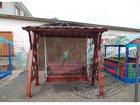 Смотреть foto  Дачные качели от производителя 34495045 в Клине