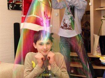 Скачать фото Организация праздников Шоу мыльных пузырей Fashion (детям и взрослым) 30679228 в Коломне