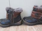 Фото в Для детей Детская обувь Б\у, р-р 24, мех натуральный в Комсомольске-на-Амуре 300