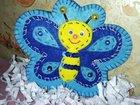 Игрушка плоская бабочка