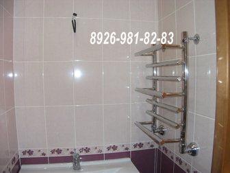 Просмотреть изображение Ремонт, отделка Ванная комната и туалет под ключ 32685717 в Королеве