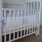 Кроватка детская с комплектом белья