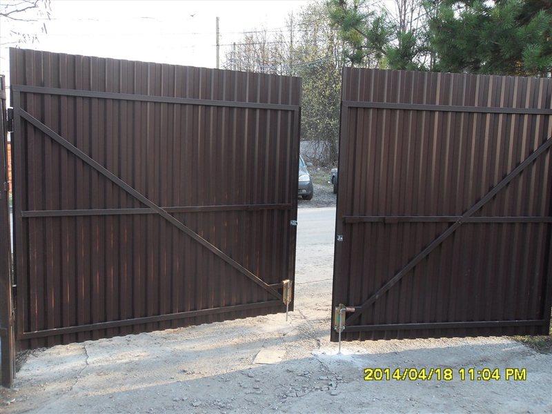 купить ворота с калиткой в таганроге