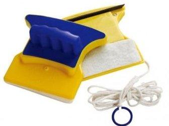 Магниты для мытья окон представляют собой два магнита, один из которых имеет удобную ручку и веревочку для того, чтобы могли привязать его к кисти,  Данная система в Коврове