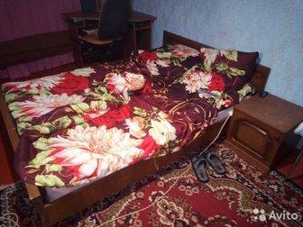 Продам кровать двух спальную в комплекте 2 тумбочки ,  состояние средние,  Все вопросы по телефону, в Коврове